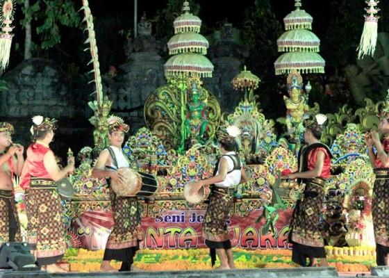 Nusabali.com - festival-jegog-meriahkan-hut-kota-negara