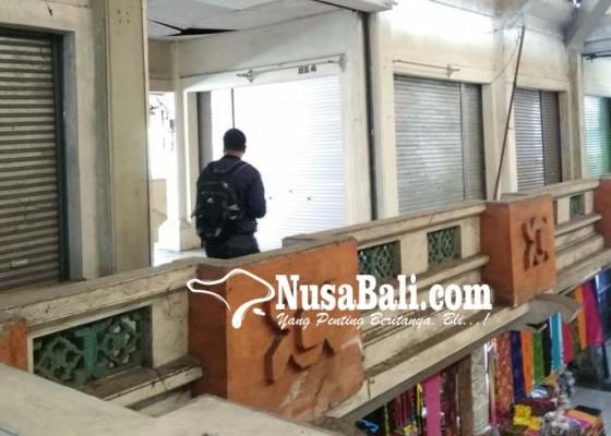 Nusabali.com - tunggakan-retribusi-pasar-semarapura-rp-1-m