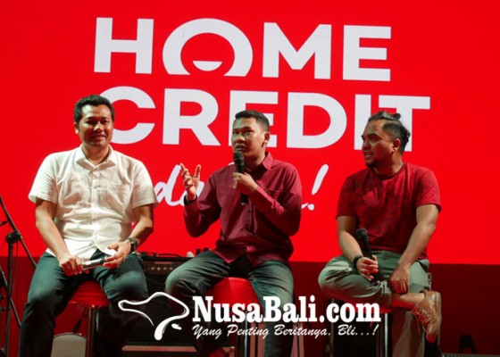 Nusabali.com - home-credit-indonesia-gelar-talkshow-tips-membuat-konten-media-sosial-berfaedah