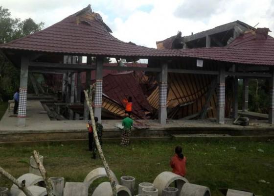Nusabali.com - desa-bunutin-prioritaskan-perbaikan-wantilan