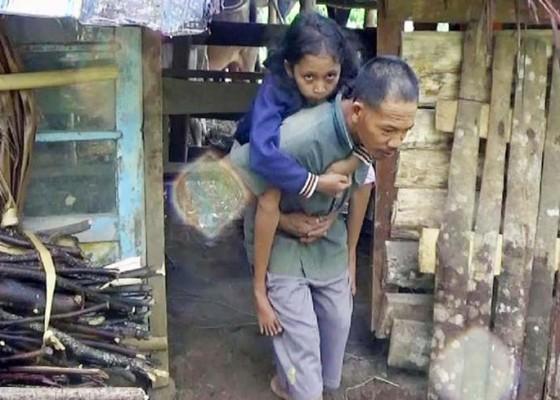 Nusabali.com - satu-keluarga-hidup-di-kandang-kerbau