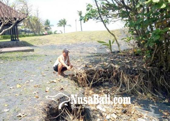 Nusabali.com - setra-dua-banjar-di-desa-kelating-terancam-hanyut