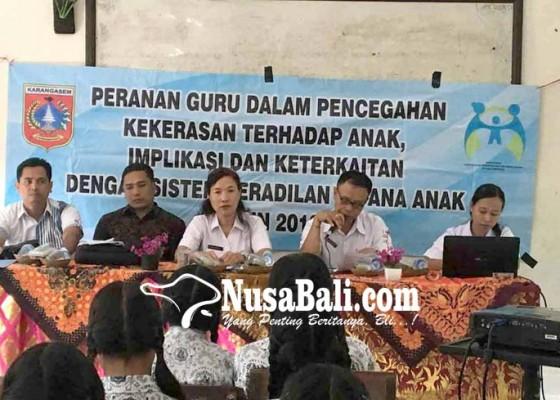 Nusabali.com - dinas-p3a-ajak-sekolah-cegah-kekerasan-anak