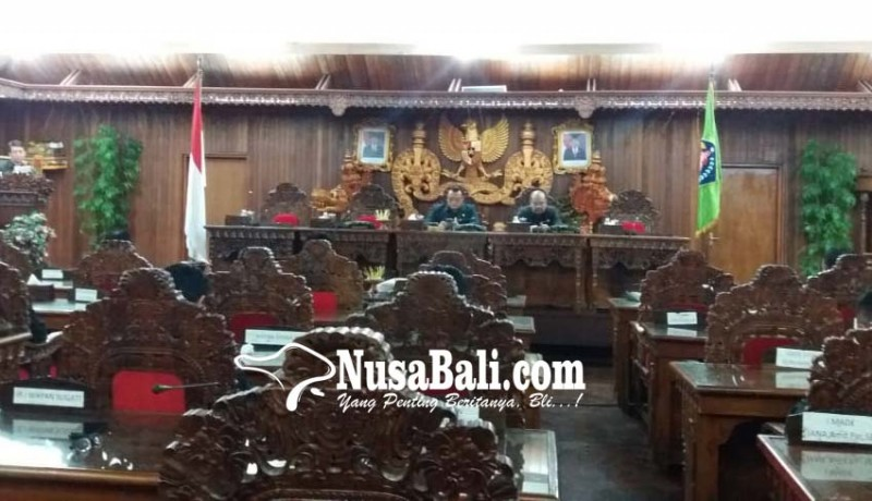 www.nusabali.com-dprd-dan-pemkab-klungkung-tandatangani-kua-ppas
