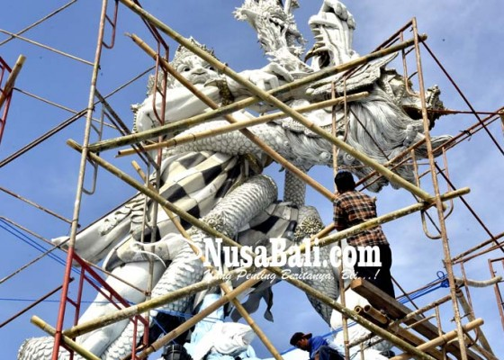 Nusabali.com - penataan-patung-dewa-ruci-ditarget-tuntas-pertengahan-september
