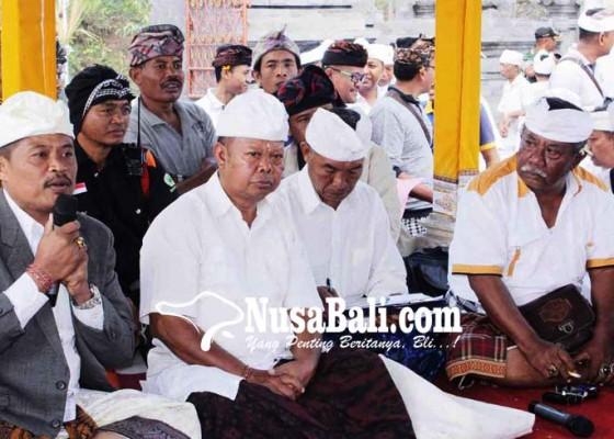 Nusabali.com - saat-melasti-pura-penataran-galian-c-diminta-tutup