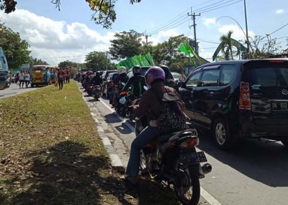 Nusabali.com - macet-karena-bali-marathon