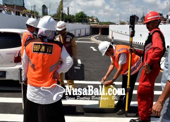 Nusabali.com - hasil-uji-mutu-underpass-layak-digunakan