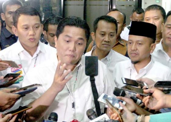 Nusabali.com - erick-thohir-pimpin-rapat-perdana-timses-jokowi