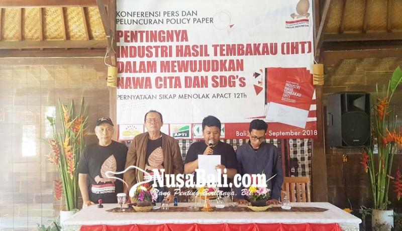 www.nusabali.com-komunitas-kretek-dan-petani-tembakau-inginkan-advokasi