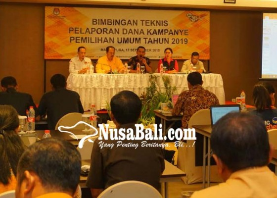Nusabali.com - parpol-di-deadline-setor-rekening-kampanye