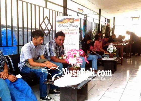 Nusabali.com - pemohon-skck-di-polres-bangli-meningkat