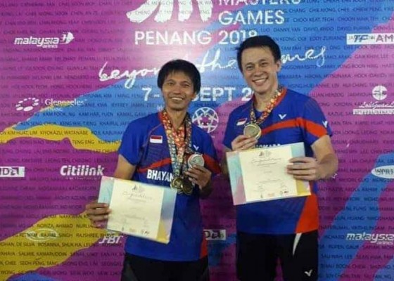 Nusabali.com - sabet-2-emas-dalam-asia-pacific-master-games-2018-di-malaysia