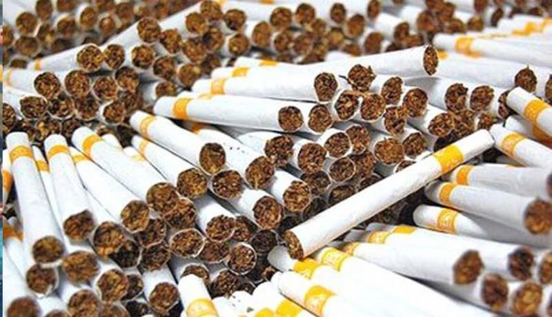 www.nusabali.com-peredaran-rokok-ilegal-704-persen