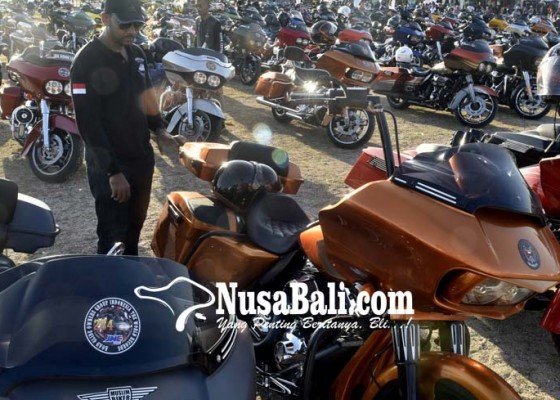Nusabali.com - 430-harley-davidson-pecahkan-rekor-dunia