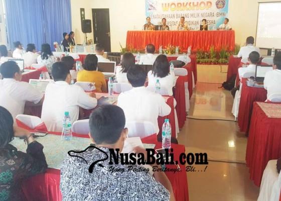 Nusabali.com - cegah-kebocoran-aset-negara-undiksha-latih-staf-tata-usaha