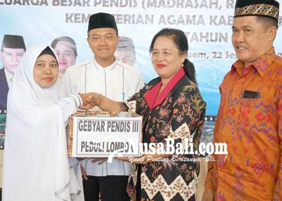 Nusabali.com - gebyar-pendis-iii-galang-dana-gempa-lombok