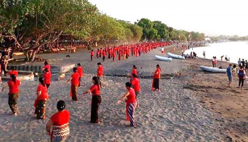www.nusabali.com-700-penari-rejang-renteng-siap-buka-lovina-festival