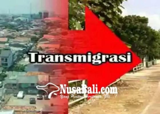 Nusabali.com - keberangkatan-calon-transmigran-belum-pasti