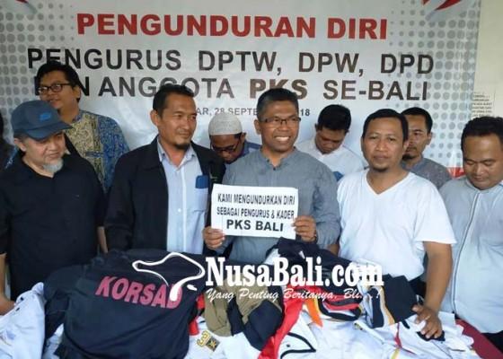Nusabali.com - pengurus-dan-kader-pks-bali-ramai-ramai-mundur
