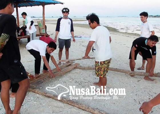 Nusabali.com - pulau-gili-putih-mulai-ditata