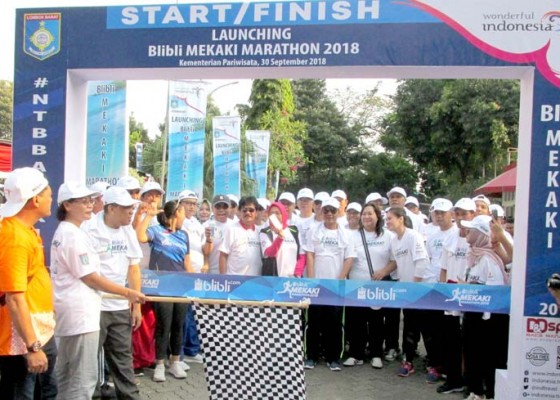 Nusabali.com - pariwisata-lombok-dibangkitkan-dengan-mekaki-marathon