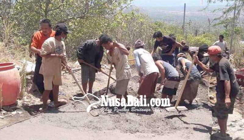 www.nusabali.com-betonisasi-jalan-desa-di-tiga-banjar