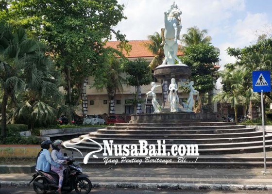 Nusabali.com - rawan-dicuri-lampu-hias-rth-jalan-rana-ditiadakan