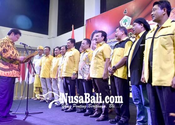 Nusabali.com - golkar-targetkan-raih-110-kursi-dpr-ri