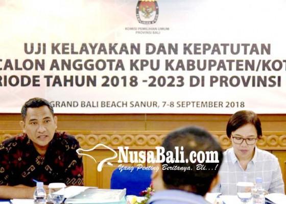 Nusabali.com - jabatan-8-kpu-di-bali-terancam-kosong