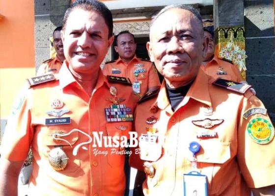 Nusabali.com - kepala-basarnas-pantau-kesiapan-sar-denpasar