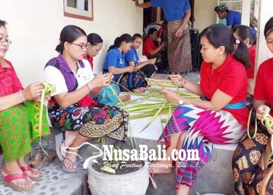 Nusabali.com - sekolah-sibuk-persiapan-saraswati