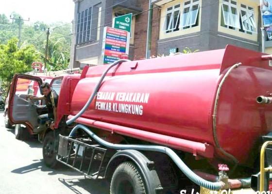 Nusabali.com - ruang-poli-gigi-puskesmas-dawan-i-terbakar