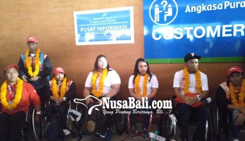 www.nusabali.com-atlet-asian-para-games-dijemput-di-bandara