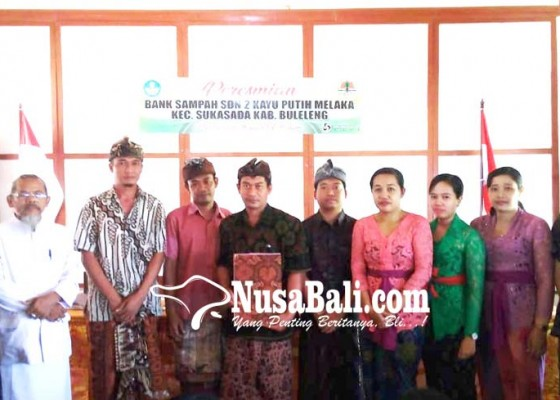 Nusabali.com - sdn-2-kayuputih-melaka-kerjasama-dengan-bank-sampah