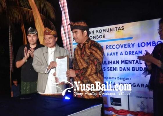 Nusabali.com - pagelaran-seni-budaya-demi-recovery-lombok