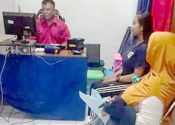 Nusabali.com - banyupinaruh-disdukcapil-tetap-layani-masyarakat