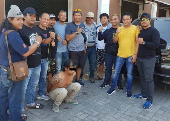 Nusabali.com - buron-polda-jateng-diringkus-di-kuta