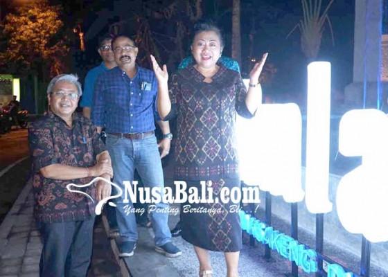 Nusabali.com - ujicoba-ikon-rekreasi-amlapura-kekurangan-daya-listrik