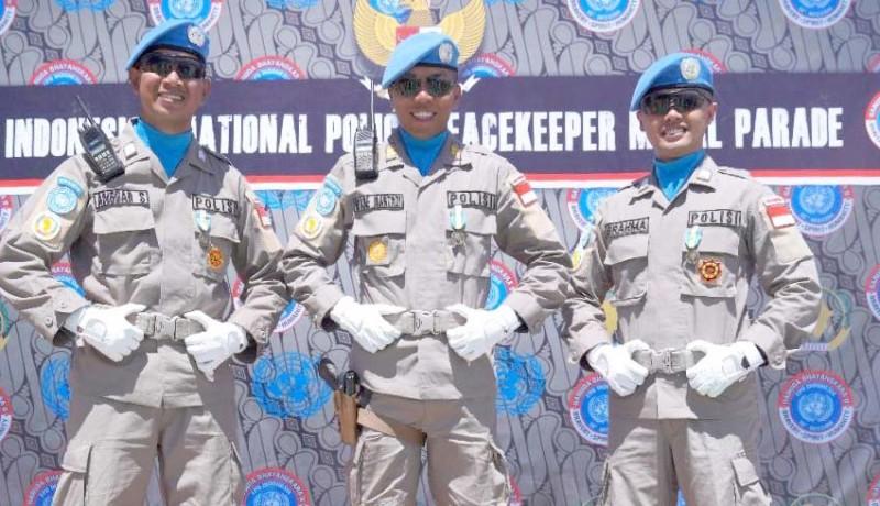 www.nusabali.com-tiga-personel-polda-bali-dianugerahi-unamid-medal