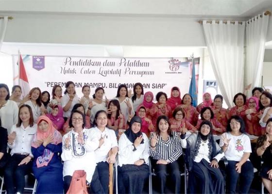 Nusabali.com - bkow-bali-kawal-61-caleg-perempuan