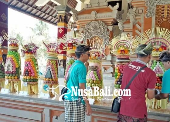 Nusabali.com - gelar-lomba-gebogan-berbahan-serba-lokal