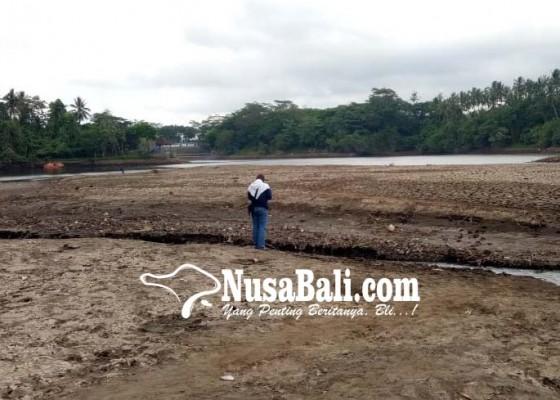 Nusabali.com - permukaan-bendungan-timpag-anjlok