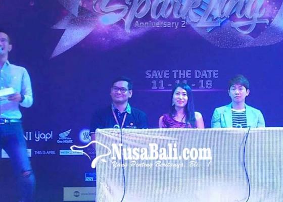 Nusabali.com - bertema-spark2ing-anniversary-level-21-mall-bertabur-acara