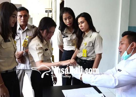 Nusabali.com - pegawai-bpn-buleleng-bersih-dari-narkoba