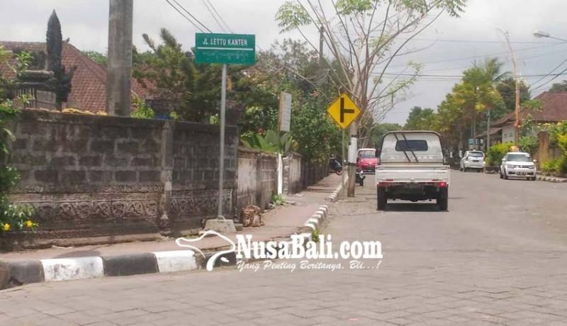 www.nusabali.com-ganti-papan-nama-dishub-ajukan-anggaran-ratusan-juta