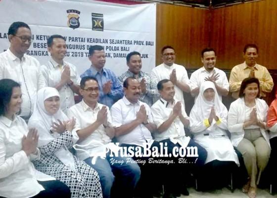 Nusabali.com - pks-polda-bali-deklarasi-jaga-pemilu-2019-damai