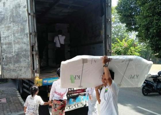 Nusabali.com - logistik-pilegpilpres-mulai-berdatangan