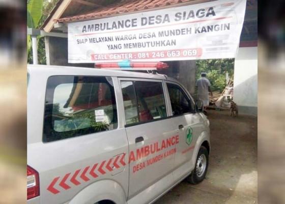 Nusabali.com - desa-mundeh-kangin-operasikan-ambulans-desa