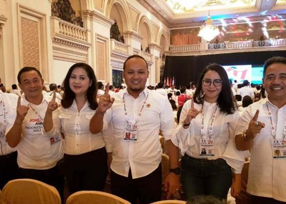 Nusabali.com - tim-jokowi-maruf-di-briefing-di-surabaya
